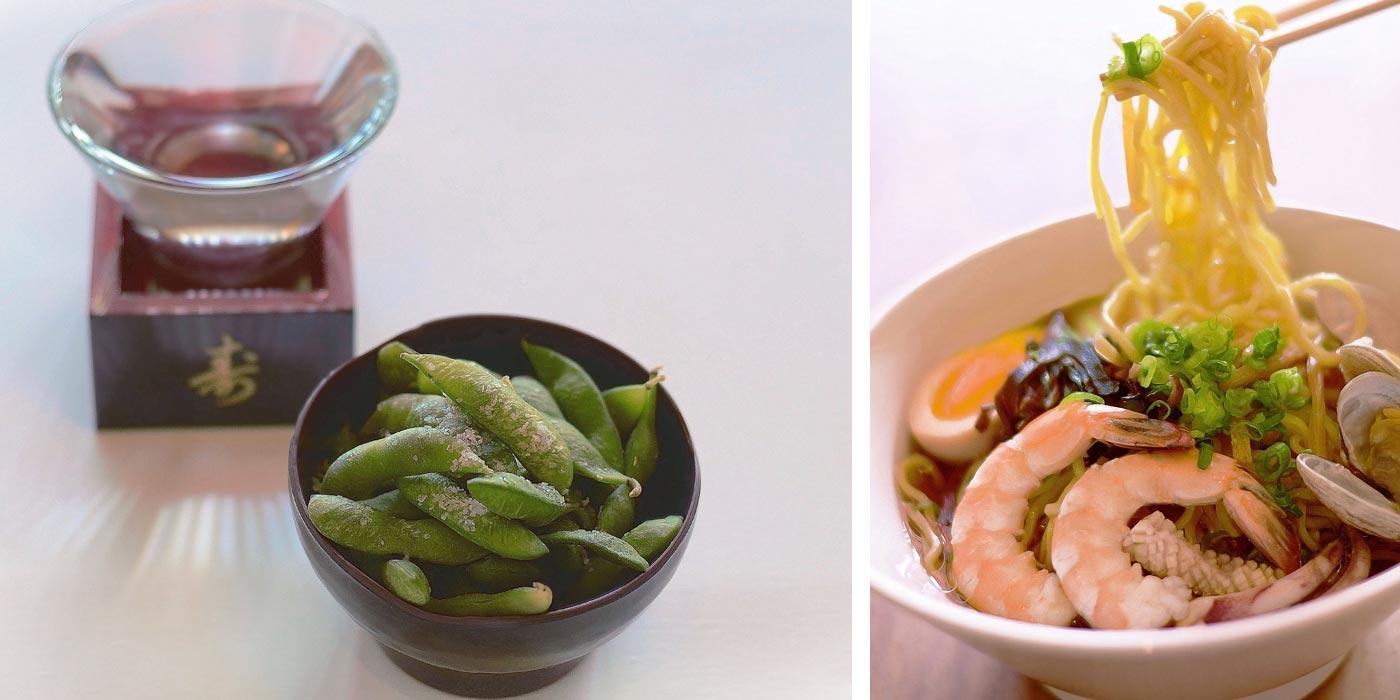 Edamame and Shrimp