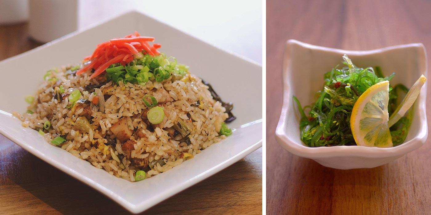 Rice and Seaweed